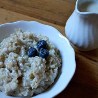 Almond Milk Oatmeal