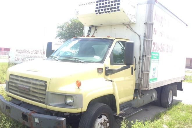 2005 C5500 Refrigerated Aluminum Box C4500 Hire Miami