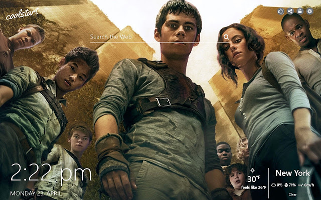 Maze Runner HD Wallpapers Movie New Tab Theme