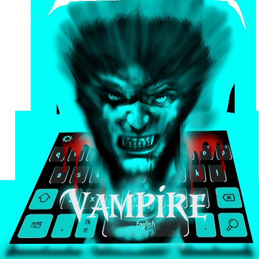Bloody Vampire Horror Keyboard Theme