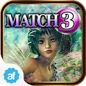 Match 3 Dreaming with Fairies icon