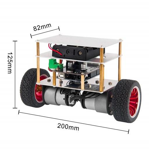 Osoyoo Balance Arduino Robot Car Android APK Download Free By Yilun Yu