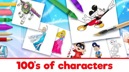 Disney Coloring World apkpoly screenshots 8