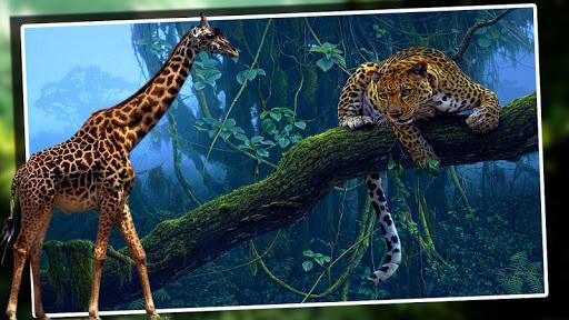 4X4非洲野生動物園的狩獵