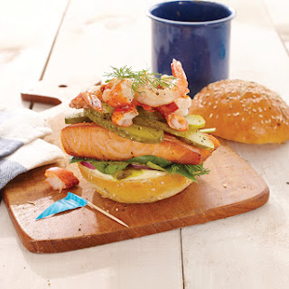 Seafood Treasure: Lost at Sea Burger
