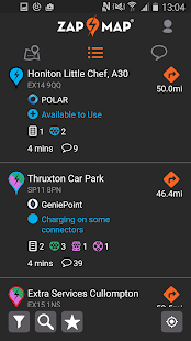 Zap-Map: EV charging points UK- screenshot thumbnail