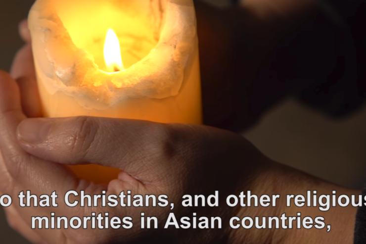 Video ý cầu nguyện tháng Một của Đức Thánh Cha