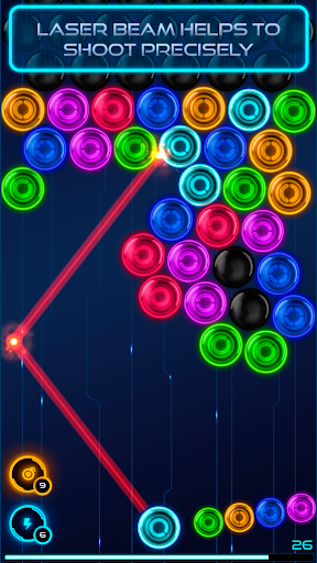 Magnetic balls: glowing neon HD 1.76 screenshots 2