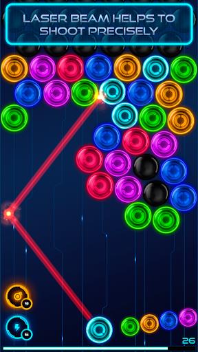 Magnetic balls 2: Neon apklade screenshots 2