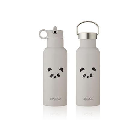 Liewood vattenflaska - 500 ml - Panda ljusgrå
