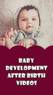 Baby development after birth Videos - náhled