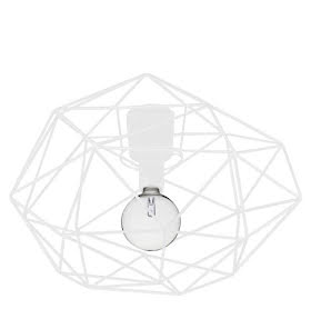 Globen Lighting Diamond Plafond Vit - lavanille.com