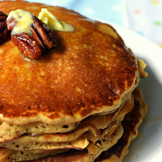Malted Nut Pancakes