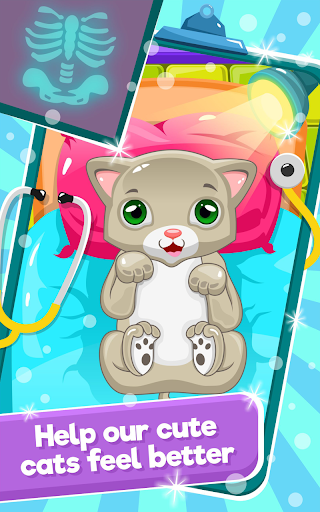 Little Cat Doctor:Pet Vet Game  gameplay | by HackJr.Pw 14