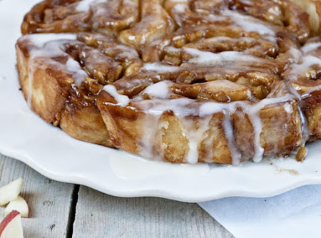 Apple Cider Glazed Apple Pie Rolls Recipe