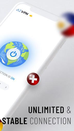 Az VPN Proxy Unlimited, Unblock Website IP Changer 2.3.7 Paidproapk.com 2