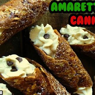 Amaretto Lace Cannoli