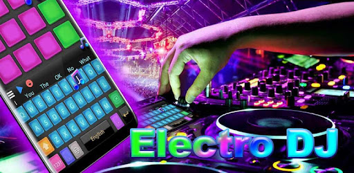 Electro DJ Pads Keyboard Theme app (apk) free download for Android/PC/Windows screenshot