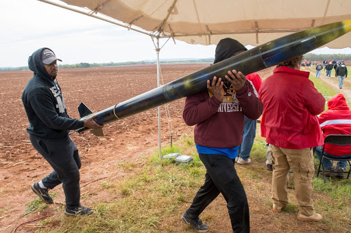 2018 NASA Student Launch event, Bragg Farms, Toney, Al