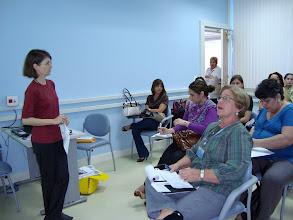 Photo: Reunião na Sala de Treinamento da Biblioteca Central da PUC-Rio.