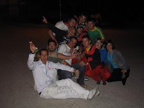 Photo: Peñistas de El 6º Infierno y de El Picadero. Agosto 2005  (enviada por Inma y Pol)