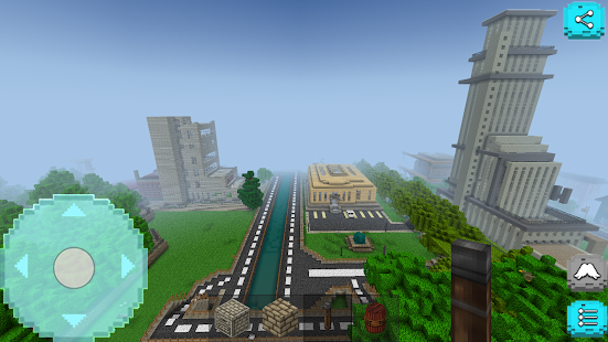 Mini Modern City Craft Screenshot