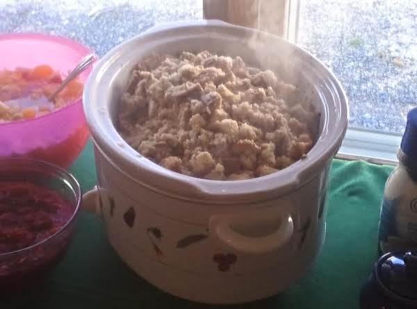 Crockpot Stuffing