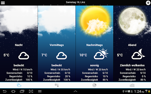 Weather for Austria- screenshot thumbnail
