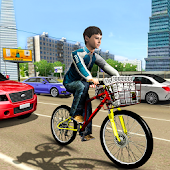 City Bicycle Simulation : Newspaper Delivery