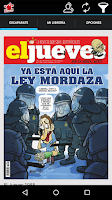 Screenshot of El Jueves revista