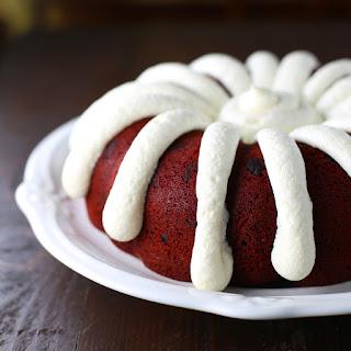 Copycat Nothing Bundt Red Velvet Cake.