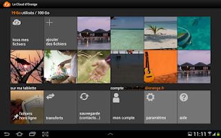 Screenshot of Le Cloud d'Orange