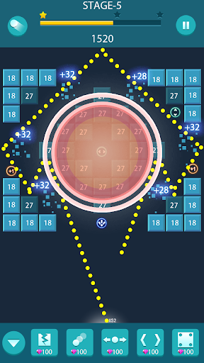 Bricks Balls Action - Bricks Breaker Puzzle Game screenshots 17