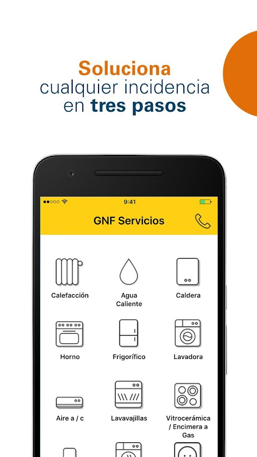 Gas natural fenosa servicios android apps on google play for Gas natural servicios