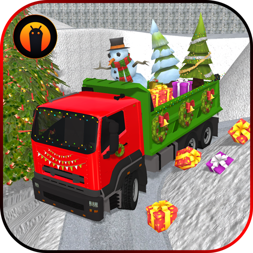 Christmas Tree Transporter Truck: Driving Games