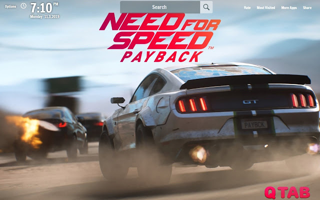 Nfs Payback New Tab Nfs Wallpapers