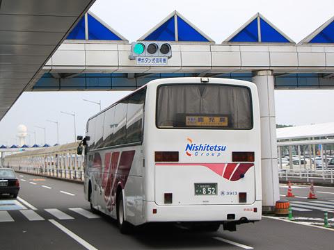 西鉄高速バス「桜島号」昼行便 3913 鹿児島空港発車