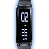 Gear Fit Digital Clock