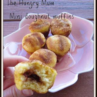 Baked Mini Jam Doughnut Muffins
