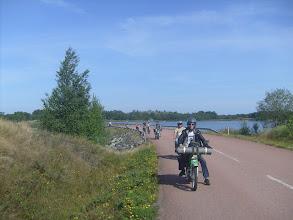 Photo: Mopoilijat matkalla Brändössä