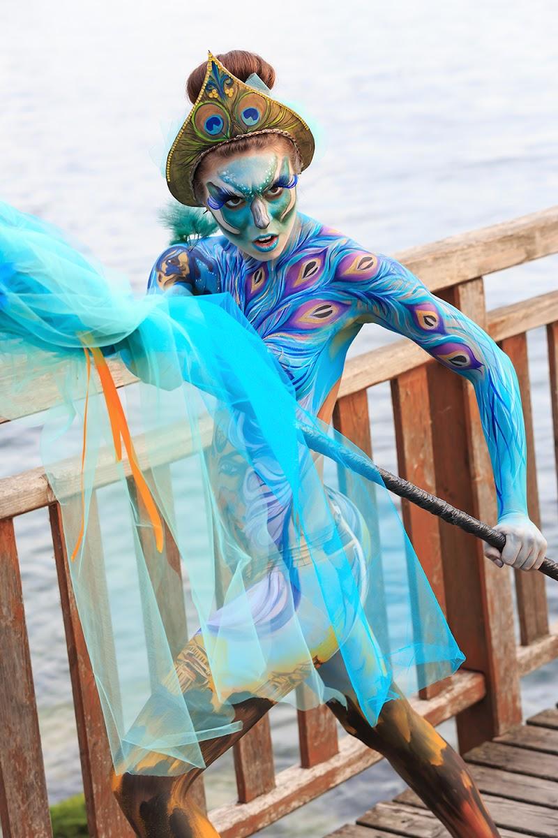 Italian Body Painting 2017 di Eagle