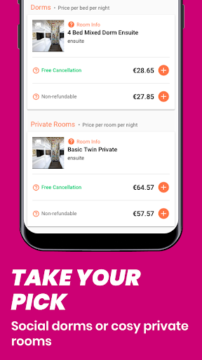 Hostelworld: Hostels & Backpacking Travel App 8.0.1 Screenshots 3