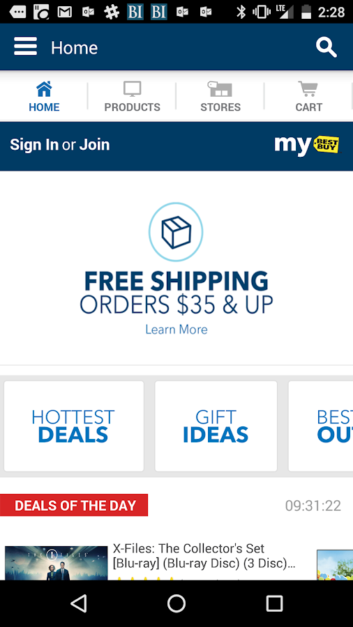 how to create an app to order products