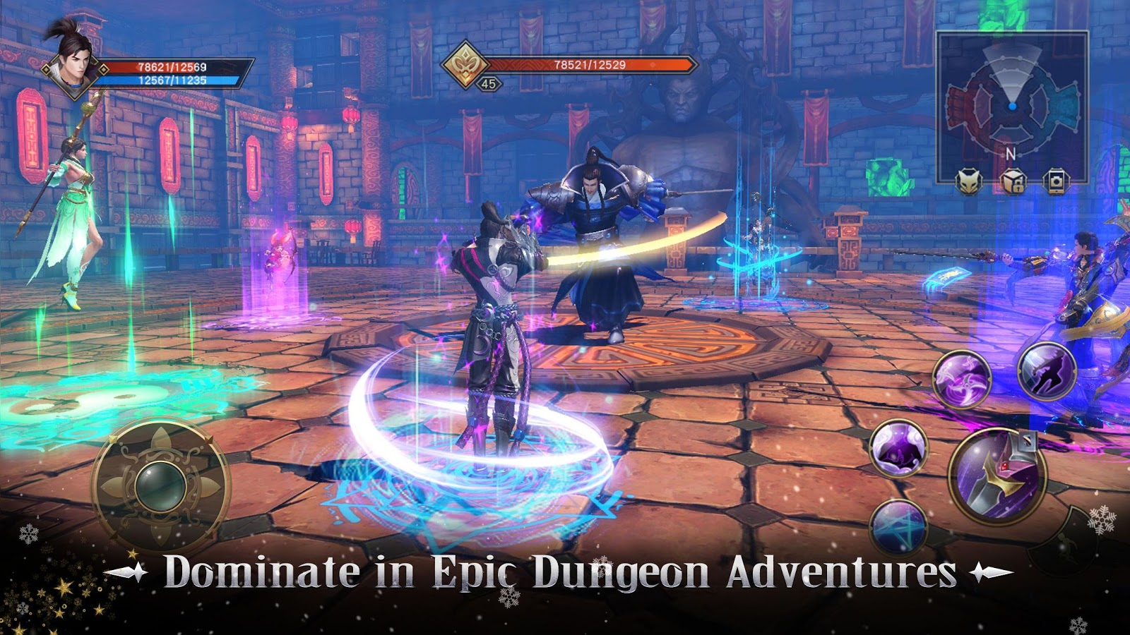 Taichi Panda 3: Dragon Hunter- screenshot