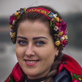На Покрова, остров Хортица.... by Pavel Todorov - People Portraits of Women