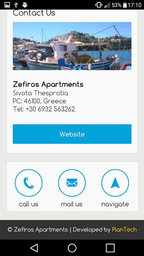 Zefiros Apartments- screenshot