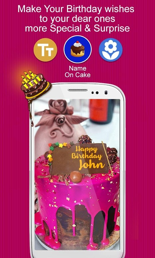 Birthday Cake Live Images ~ Photo on birthday cake android apps google play