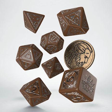 The Witcher Dice Set. Geralt  - Roachs Companion