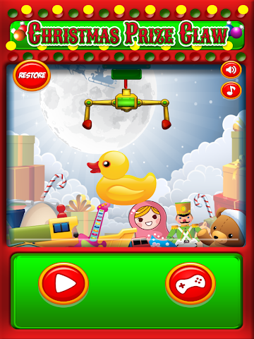 android Christmas Prize Claw Kids FREE Screenshot 0