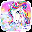 Unicorn Shiny Rainbow Theme